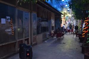 Café am Lazoughli-Platz