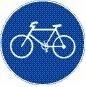 Verkehrszeichen Radweg