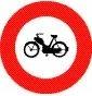 Verkehrszeichen «Verbot für Motorfahrräder»