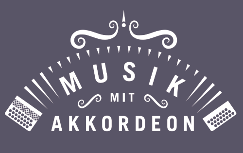 Logo Musik mit Akkordeon